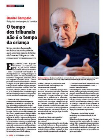 Entrevista a Daniel Sampaio