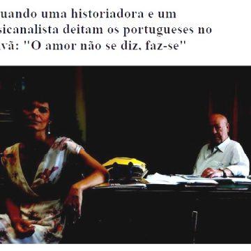 Entrevista a António Coimbra de Matos e Raquel Varela