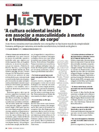 Entrevista a Siri Hustvedt