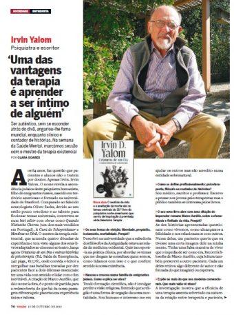 Entrevista a Irvin Yalom