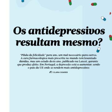 Os antidepressivos resultam mesmo?
