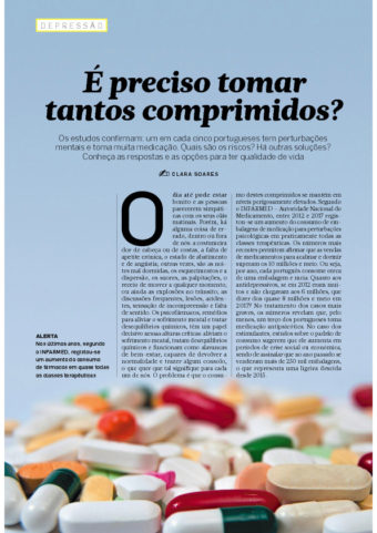 É preciso tomar tantos comprimidos?